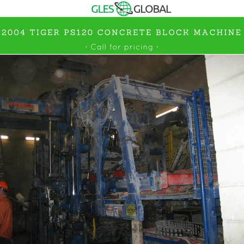 Used Concrete Products Equipment - Block Machines, Mixers, Paving